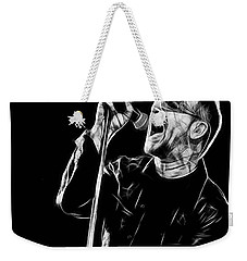 Bono U2 Collection Weekender Tote Bag by Marvin Blaine