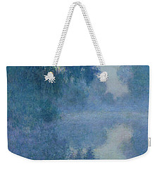 Branch Of The Seine Near Giverny Weekender Tote Bag by Claude Monet