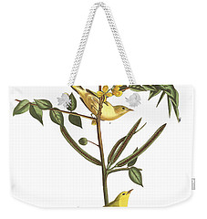 Children's Warbler Weekender Tote Bag by John James Audubon