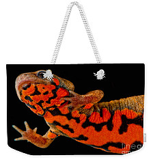 Chuxiong Fire Belly Newt Weekender Tote Bag by Dant� Fenolio