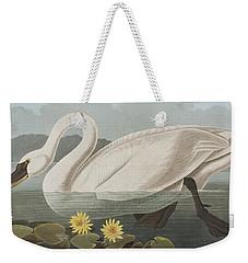 Common American Swan Weekender Tote Bag by John James Audubon