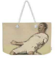 Cristiano Ronaldo Reacts Weekender Tote Bag by Don Kuing