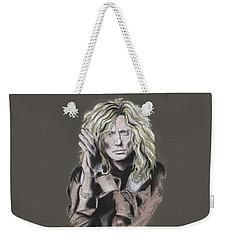 David Coverdale Weekender Tote Bag by Melanie D