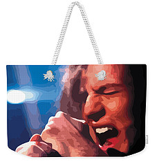 Eddie Vedder Weekender Tote Bag by Gordon Dean II