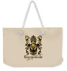 Emperor Of Germany Coat Of Arms - Livro Do Armeiro-mor Weekender Tote Bag by Serge Averbukh