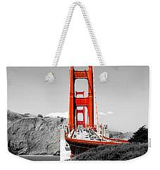 Golden Gate Weekender Tote Bag by Greg Fortier
