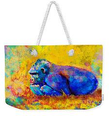 Gorilla Gorilla Weekender Tote Bag by Betty LaRue