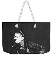 Hope Solo Weekender Tote Bag by Semih Yurdabak