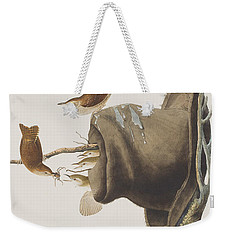 House Wren Weekender Tote Bag by John James Audubon