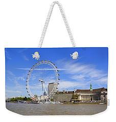 London Eye Weekender Tote Bag by Joana Kruse