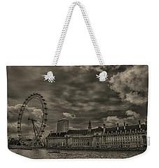 London Eye Weekender Tote Bag by Martin Newman