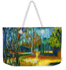 Magic Weekender Tote Bag by Tanya Filichkin