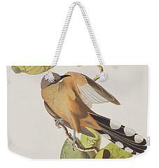 Mangrove Cuckoo Weekender Tote Bag by John James Audubon