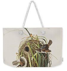 Marsh Wren  Weekender Tote Bag by John James Audubon