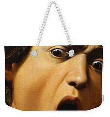 Medusa Weekender Tote Bag by Caravaggio