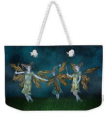 Mischief  Weekender Tote Bag by Betsy Knapp