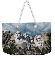 Mount Rushmore II Weekender Tote Bag by Tom Mc Nemar