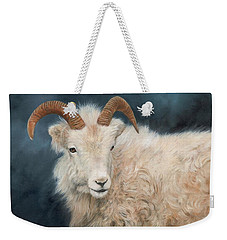 Mountain Goat Weekender Tote Bag by David Stribbling
