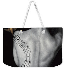 Muse-ic Weekender Tote Bag by Pat Erickson