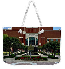 Oklahoma Memorial Stadium Weekender Tote Bag by Center For Teaching Excellence