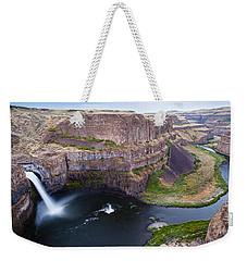 Palouse Falls Weekender Tote Bag by Mike Reid