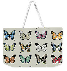 Papillon Weekender Tote Bag by Sarah Hough