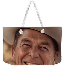 President Ronald Reagan Weekender Tote Bag by War Is Hell Store