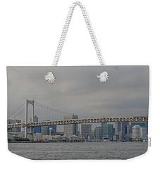 Rainbow Bridge Weekender Tote Bag by Megan Martens