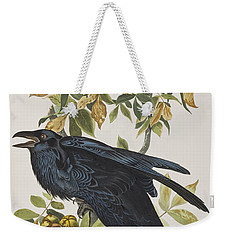 Raven Weekender Tote Bag by John James Audubon