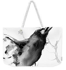 Raven Weekender Tote Bag by Suren Nersisyan