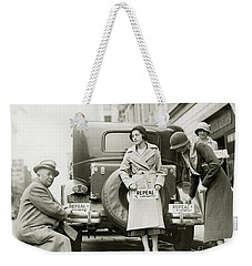 Repeal The 18th Amendment Weekender Tote Bag by Jon Neidert