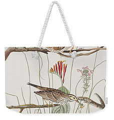 Savannah Finch Weekender Tote Bag by John James Audubon