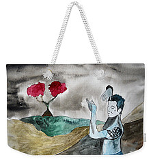 Scott Weiland - Stone Temple Pilots - Music Inspiration Series Weekender Tote Bag by Carol Crisafi