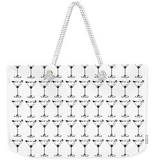 So Many Martinis So Little Time Weekender Tote Bag by Jon Neidert