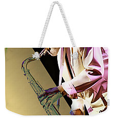 Sonny Rollins Collection Weekender Tote Bag by Marvin Blaine