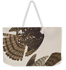 Stanley Hawk Weekender Tote Bag by John James Audubon