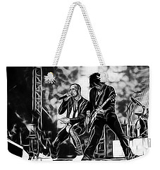 Stone Temple Pilots Collection Weekender Tote Bag by Marvin Blaine
