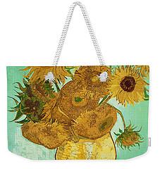 Sunflowers Weekender Tote Bag by Vincent Van Gogh