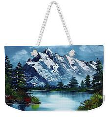 Take A Breath Weekender Tote Bag by Barbara Teller