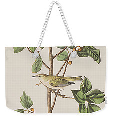 Tennessee Warbler Weekender Tote Bag by John James Audubon