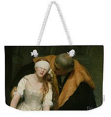 The Execution Of Lady Jane Grey Weekender Tote Bag by Hippolyte Delaroche