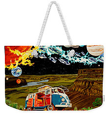 The Gorge One Sweet World Weekender Tote Bag by Joshua Morton