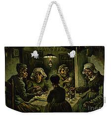The Potato Eaters, 1885 Weekender Tote Bag by Vincent Van Gogh