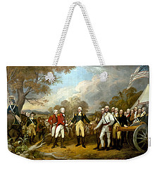 The Surrender Of General Burgoyne Weekender Tote Bag by War Is Hell Store