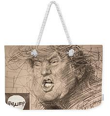 Trump Weekender Tote Bag by Ylli Haruni