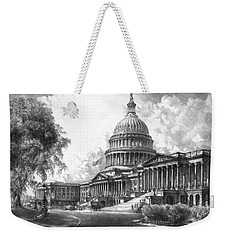 United States Capitol Building Weekender Tote Bag by War Is Hell Store