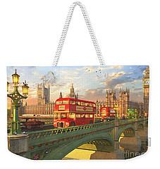Westminster Bridge Weekender Tote Bag by Dominic Davison