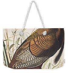 Wild Turkey Weekender Tote Bag by John James Audubon