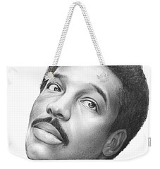 Wilson Pickett Weekender Tote Bag by Greg Joens
