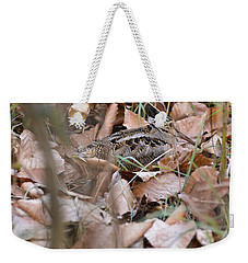 Woodcock Weekender Tote Bag by Chip Laughton